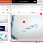 Slide Area in PowerPoint Online