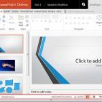 Status Bar in PowerPoint Online