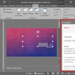 Task Pane in PowerPoint 2016 for Windows