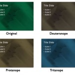 PowerPoint Slides for Color-Blind Audiences