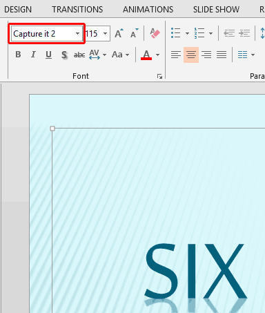 Find Substituted Fonts in PowerPoint