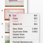 Slides Pane in PowerPoint 2016 for Mac