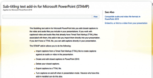 STAMP - Accessibility Add-in for PowerPoint