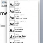 Applying Theme Colors and Theme Fonts in PowerPoint 2008 for Mac