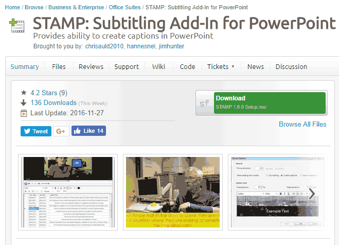 Download and Install the STAMP Add-in