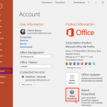 Identify 32-Bit or 64-Bit in PowerPoint and Office 2016 for Windows