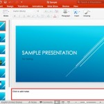 Notes Pane in PowerPoint 2016 for Mac