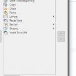 Reset, Export, and Import QAT Customizations in PowerPoint 2016