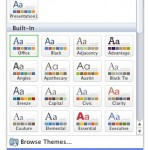 Saving Themes in PowerPoint, Word, and Excel 2011 for Mac