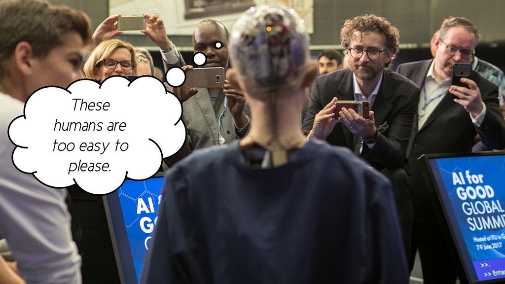 Robot Never Memorize Your Presentations