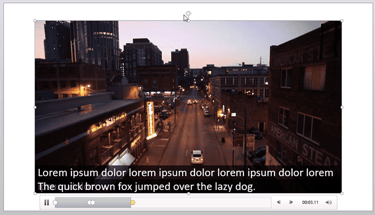 Create Video Captions using the STAMP Add-in in PowerPoint