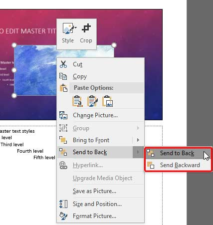 Notes Master View in PowerPoint 2016 for Windows