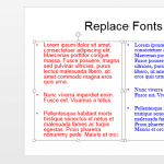 Replace Fonts in PowerPoint 2013 for Windows