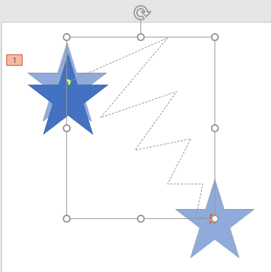 Drawing Custom Paths for Motion Path Animations in PowerPoint 2016 for Windows