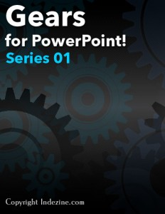 Gear Graphics for PowerPoint - Series 1 of 5