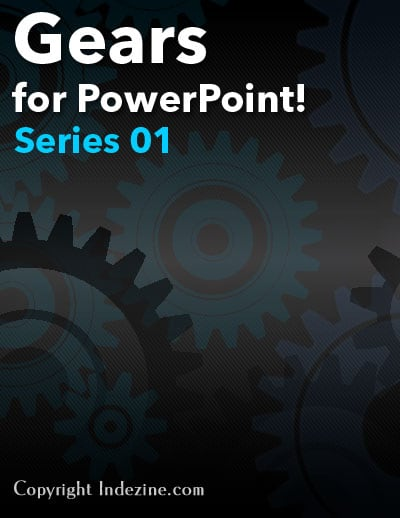 Gear Graphics for PowerPoint (Series 1 of 5)