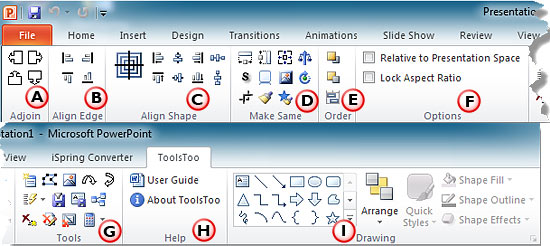ToolsToo Add-in for PowerPoint