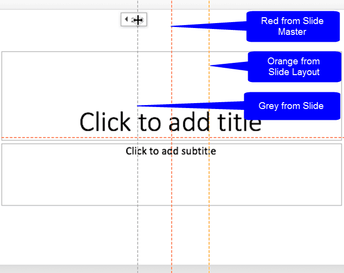 Hierarchical Guide Options in PowerPoint 2016 for Mac