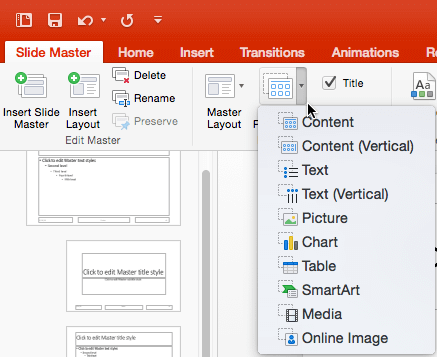 how to add pictures to powerpoint on mac
