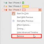 Remove Animations in PowerPoint 2016 for Windows
