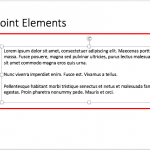 Resize Text Boxes on a Slide in PowerPoint 2016 for Mac