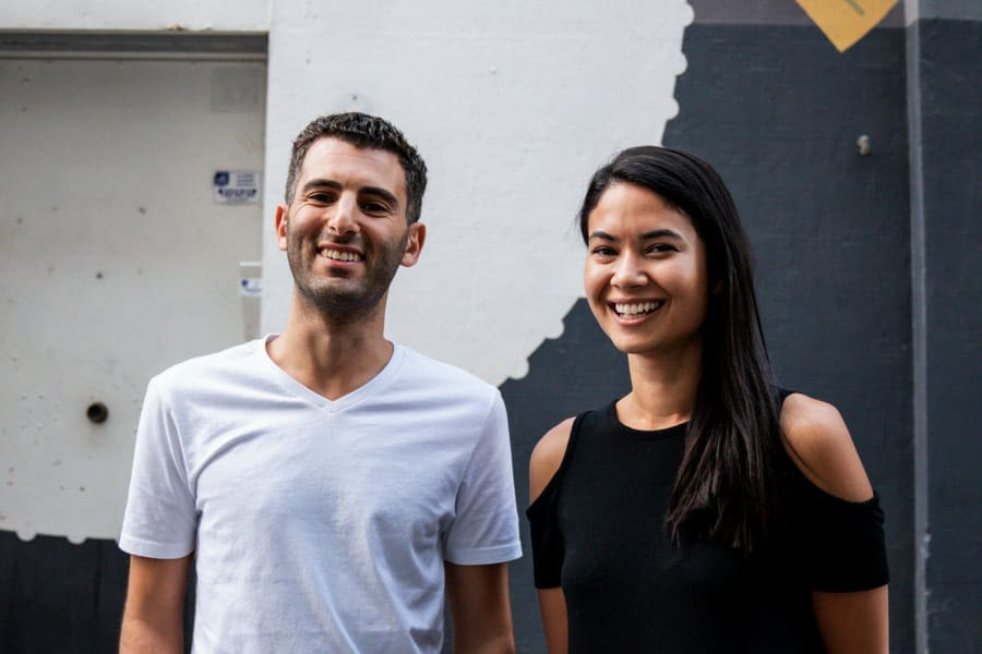 Robert Kawalsky with Canva Cofounder and CEO, Melanie Perkins