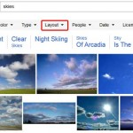 Bing Images Search by Layout