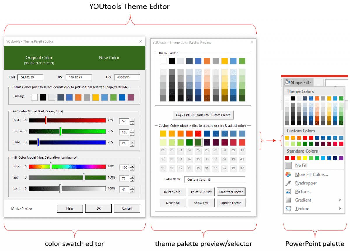 YOUtools Theme Editor