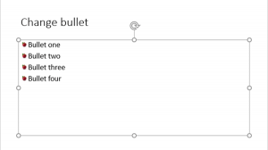 Picture Bullets in PowerPoint 2016 for Windows