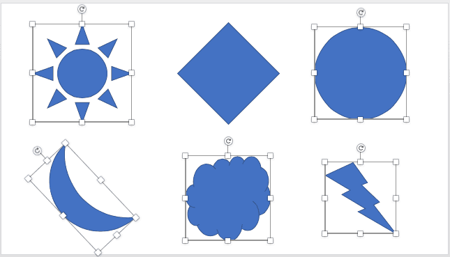 Select and Deselect Shapes in PowerPoint 2016 for Mac