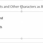 Use Dingbats and Other Characters as Bullets in PowerPoint 2016 for Windows