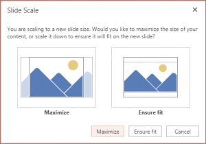 Change Presentation Aspect Ratio from Widescreen to Standard (and Vice Versa) in PowerPoint Online