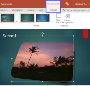 Reset Pictures in PowerPoint Online