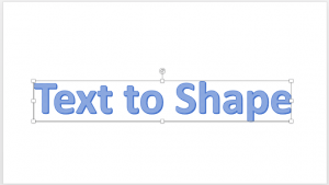 Convert Text to Shape by Intersecting in PowerPoint 2016 for Mac