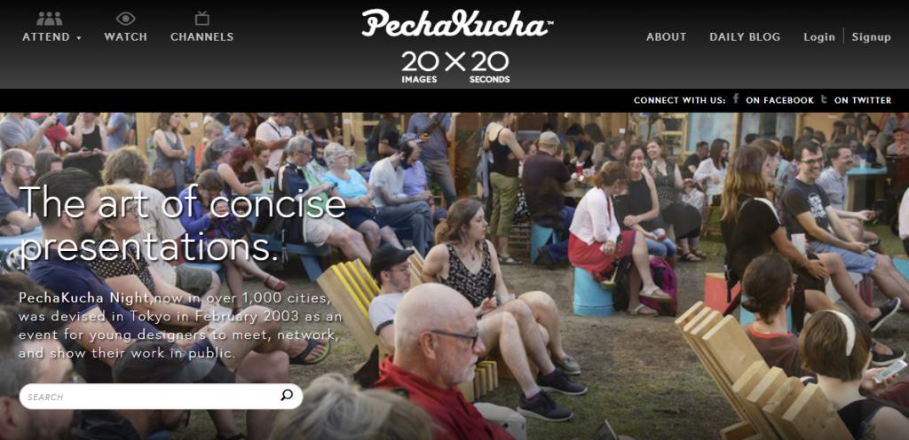 Pecha Kucha Site