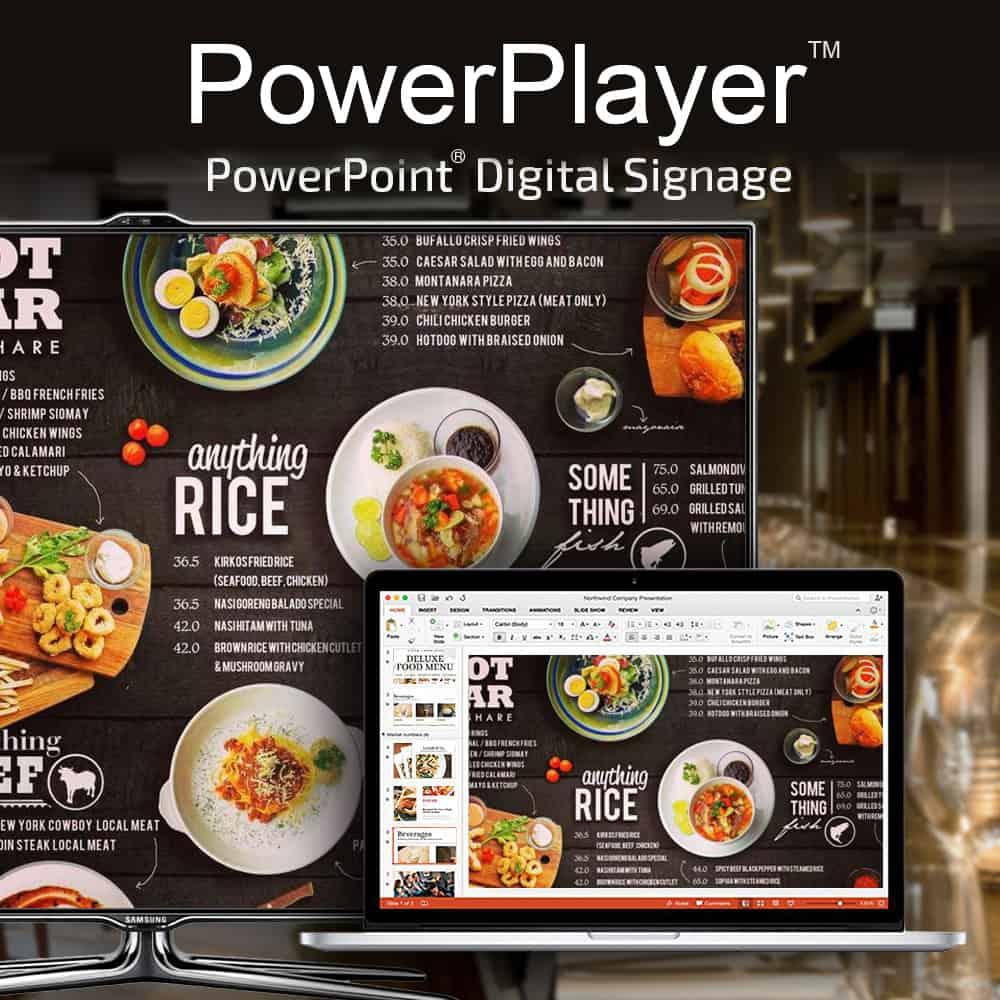 PowerPlayer PowerPoint Digital Signage
