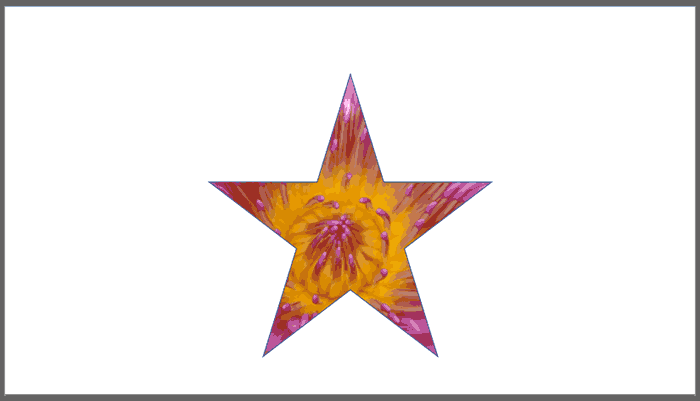 Put Your Image in a Star in PowerPoint