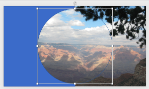 Add Slide Background Fill to Shapes in PowerPoint 2016 for Mac