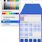 Add Gradient Fills to Shapes in PowerPoint 2016 for Mac