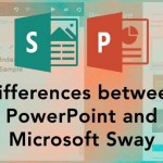 Differences between PowerPoint and Microsoft Sway