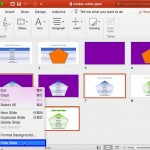 Hide/Unhide Slides in PowerPoint 2016 for Mac