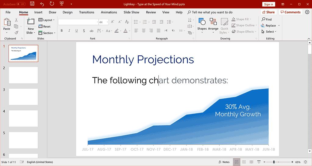Lightkey PowerPoint Example v2