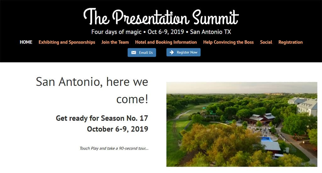 Presentation Summit, San Antonio
