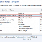 Locate Your Version in PowerPoint 365 for Windows