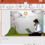 Slide Area in PowerPoint 2019 for Windows