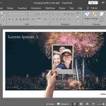Changing Interface Color in PowerPoint 2019 for Windows