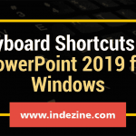 Keyboard Shortcuts for PowerPoint 2019 for Windows