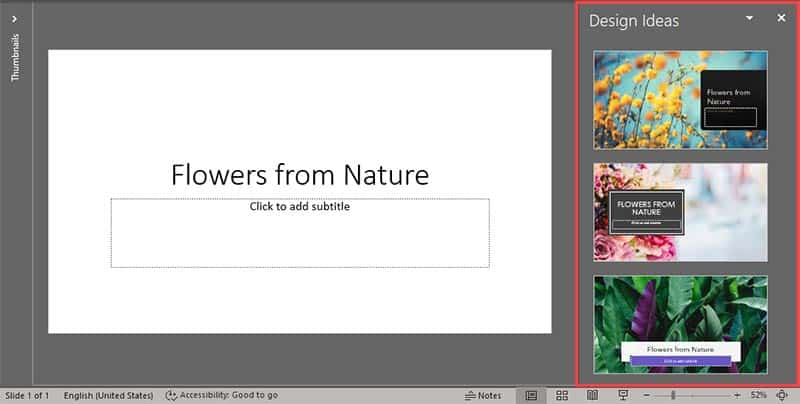 Add Photos and Layouts to Title Slides With PowerPoint Designer in PowerPoint 365 for Windows