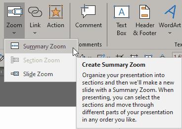 Summary Zoom