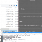 File Types That Can be Opened in PowerPoint 2019 for Windows